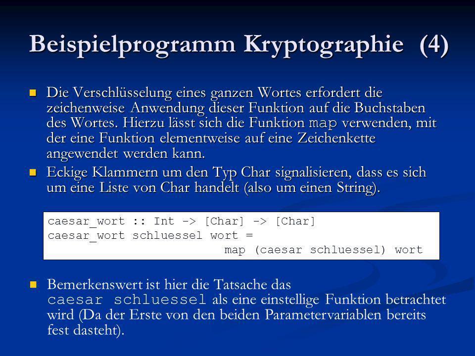 Beispielprogramm Kryptographie (4)
