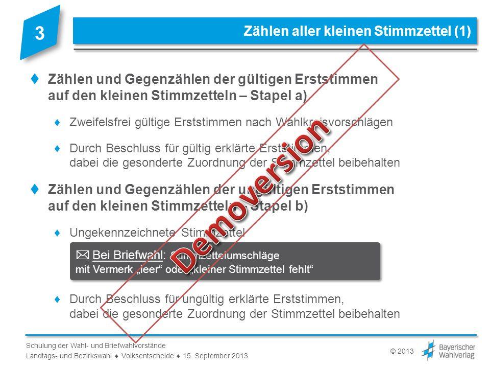 Auswertung der großen Stimmzettel nach Bewerbern (2)