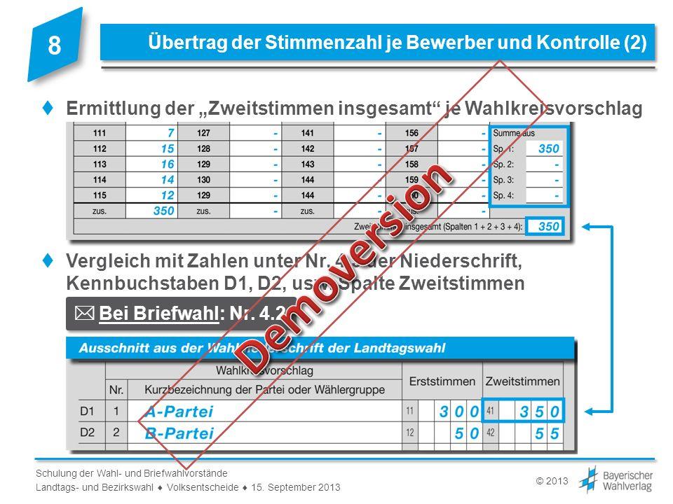 Landtags- und Bezirkswahl  Volksentscheide