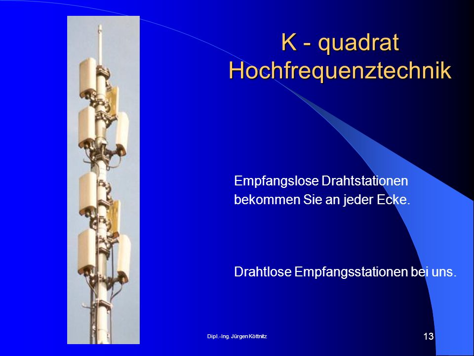 K - quadrat Hochfrequenztechnik