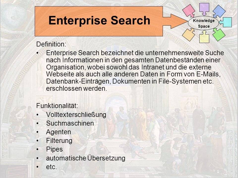 Enterprise Search Definition: