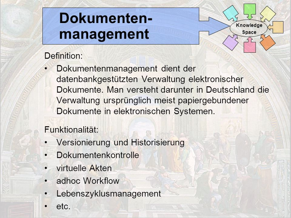 Dokumenten- management