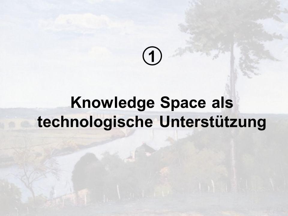 Knowledge Space als technologische Unterstützung
