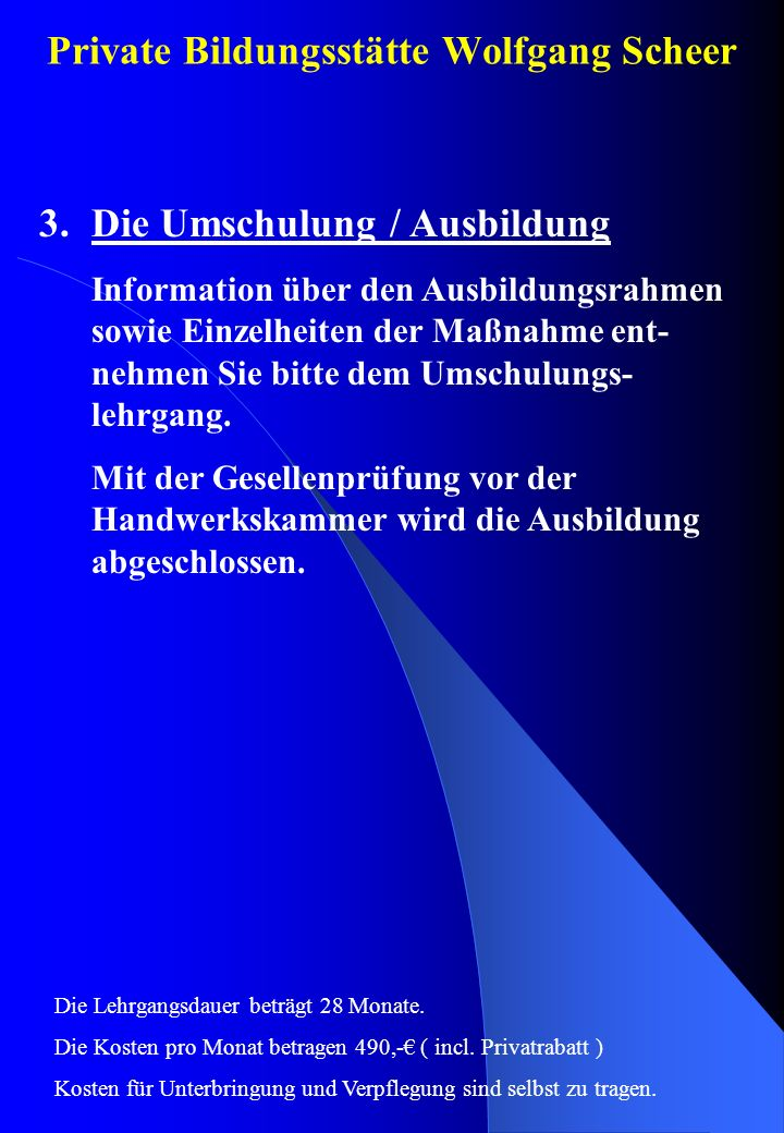 Private Bildungsstätte Wolfgang Scheer