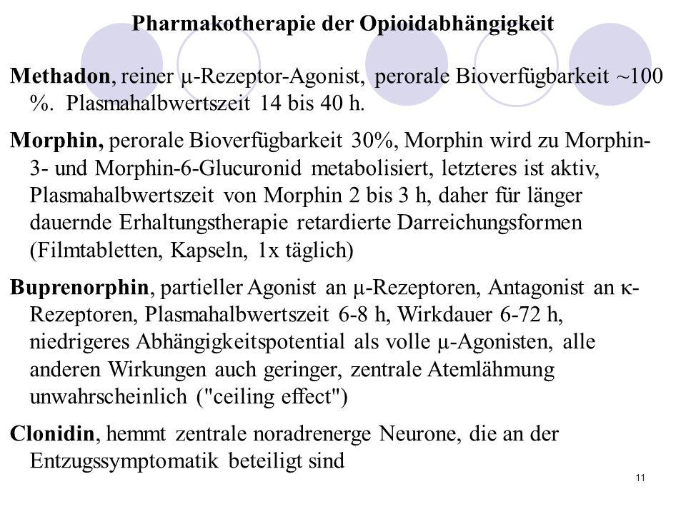 Pharmakotherapie der Opioidabhängigkeit