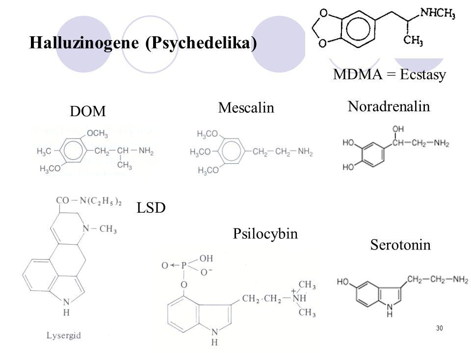 Halluzinogene (Psychedelika)