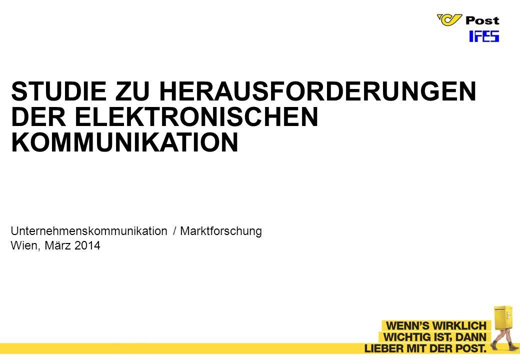 STUDIE ZU HERAUSFORDERUNGEN DER ELEKTRONISCHEN KOMMUNIKATION