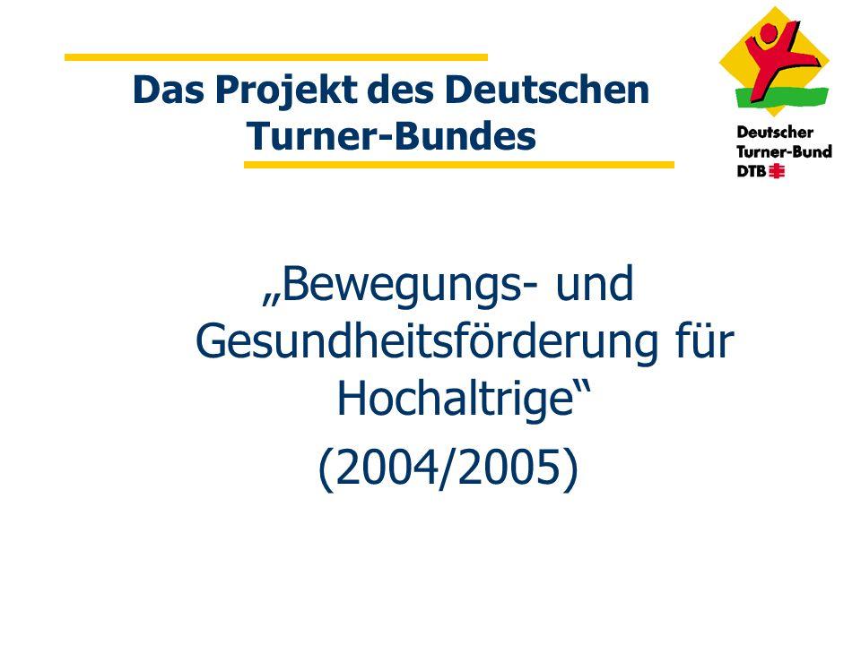 Das Projekt des Deutschen Turner-Bundes