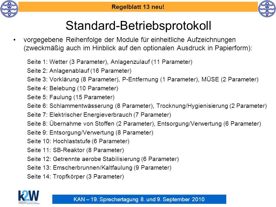 Standard-Betriebsprotokoll