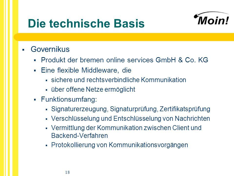 Die technische Basis Governikus