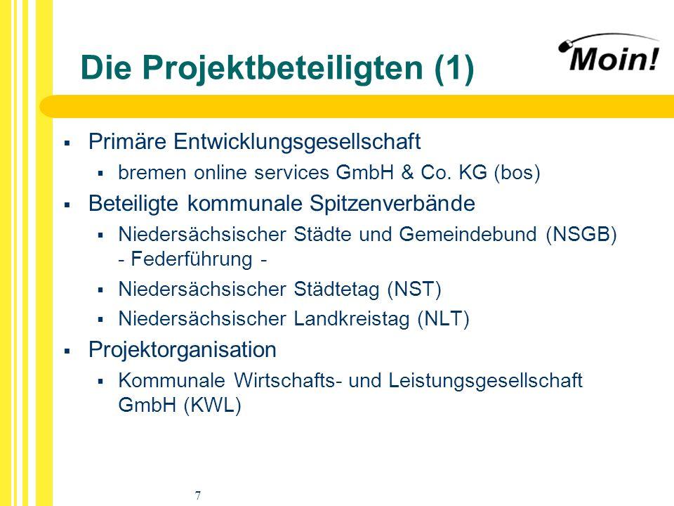 Die Projektbeteiligten (1)