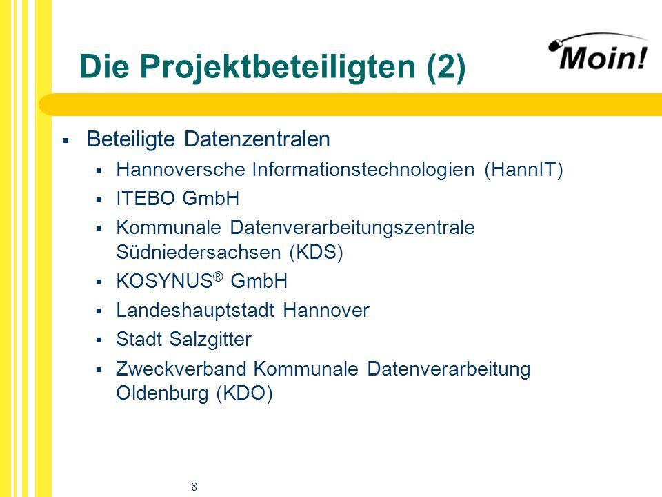 Die Projektbeteiligten (2)