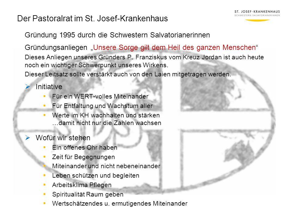Der Pastoralrat im St. Josef-Krankenhaus