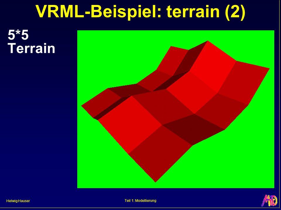 VRML-Beispiel: terrain (2)
