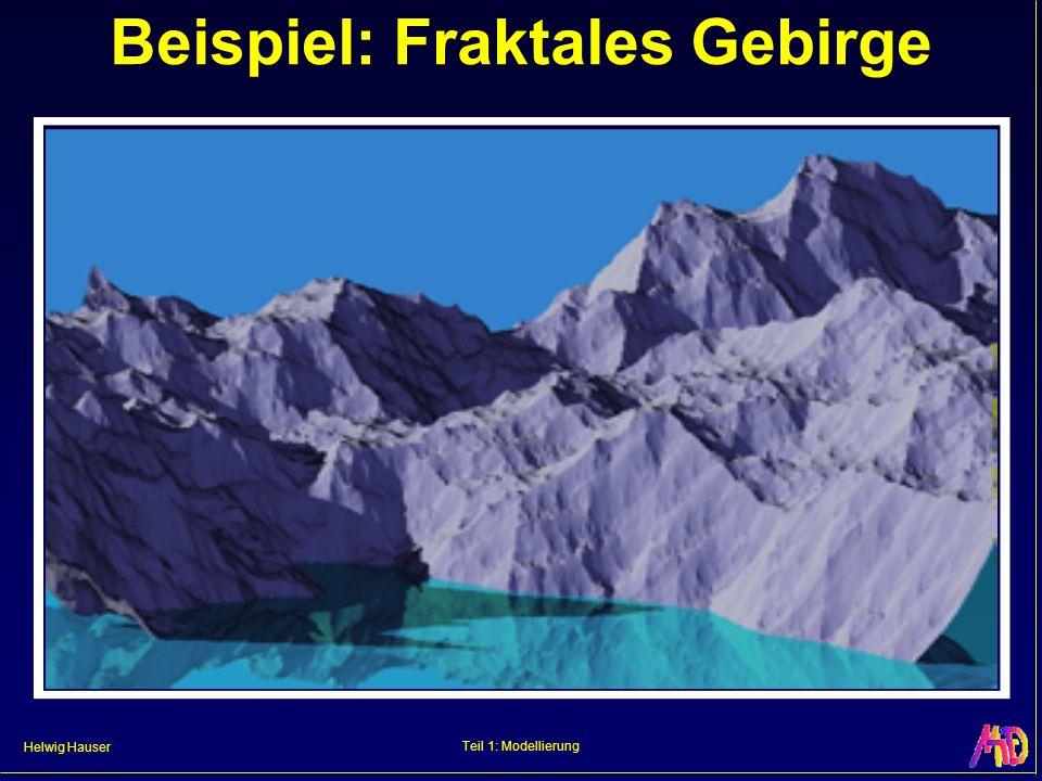 Beispiel: Fraktales Gebirge