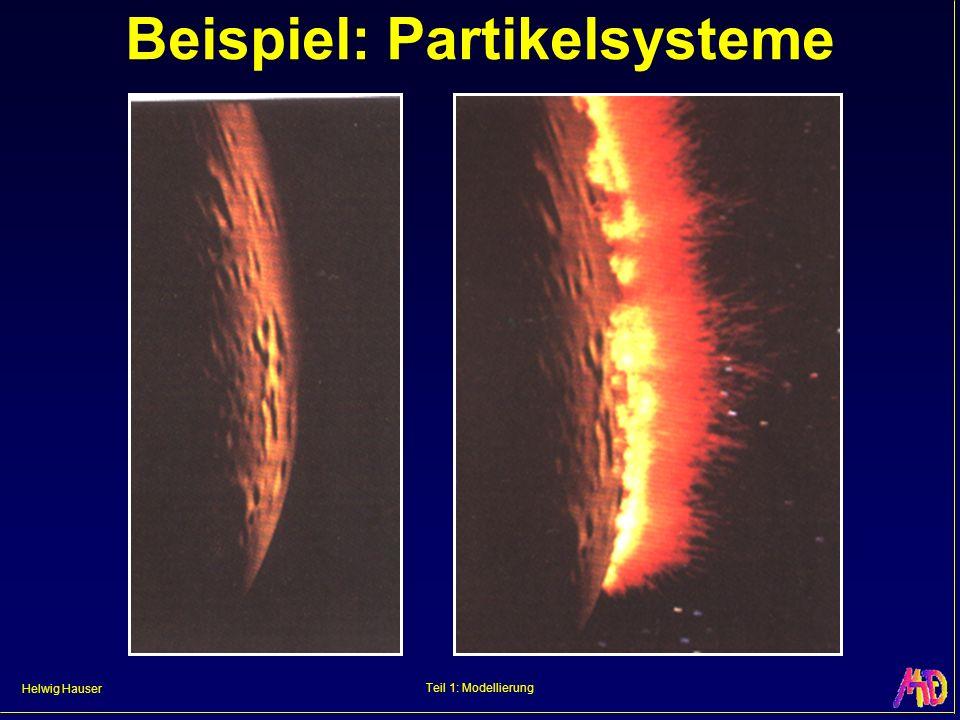 Beispiel: Partikelsysteme