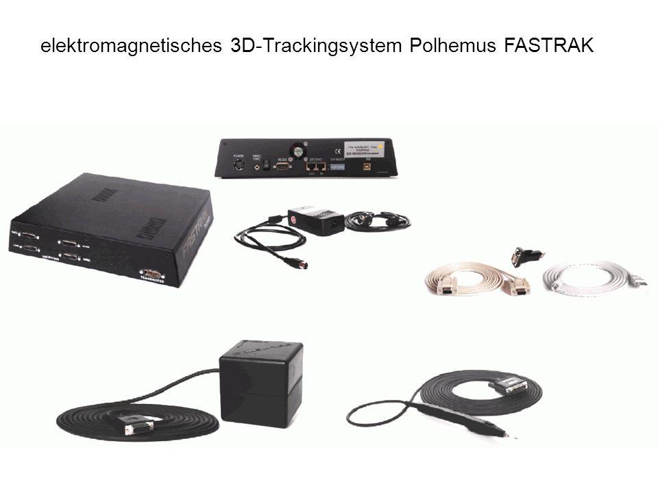 elektromagnetisches 3D-Trackingsystem Polhemus FASTRAK