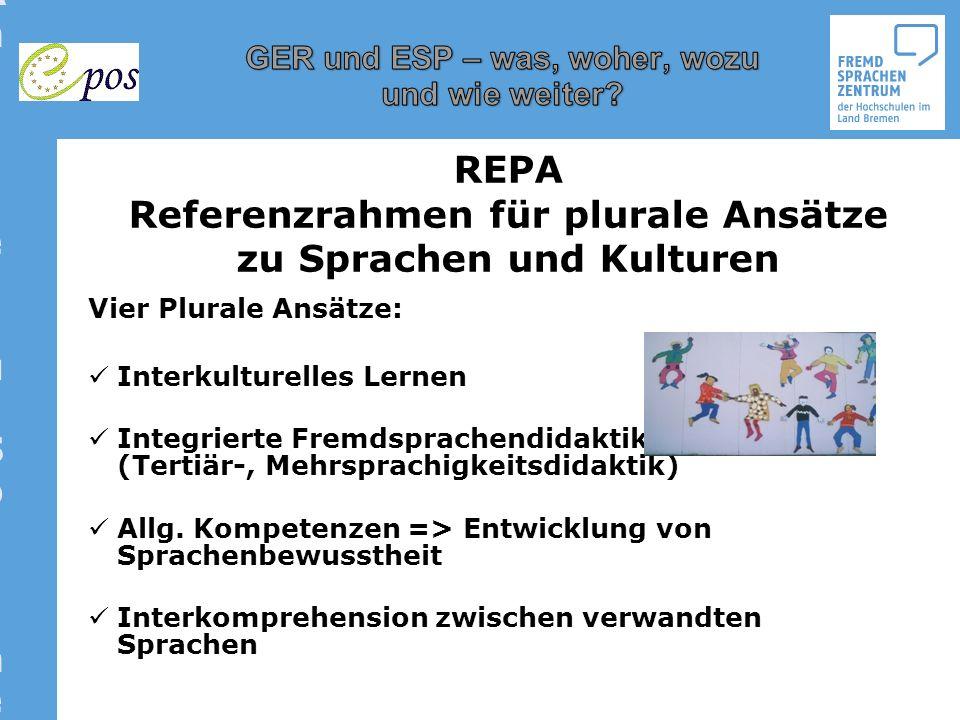 Referenzrahmen für plurale Ansätze zu Sprachen und Kulturen