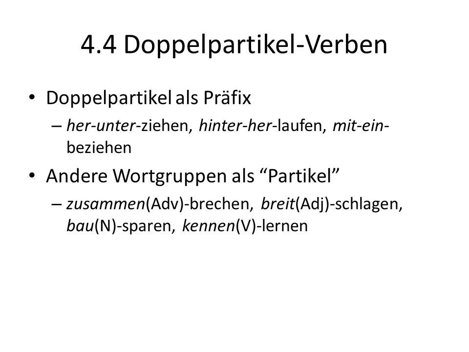 4.4 Doppelpartikel-Verben
