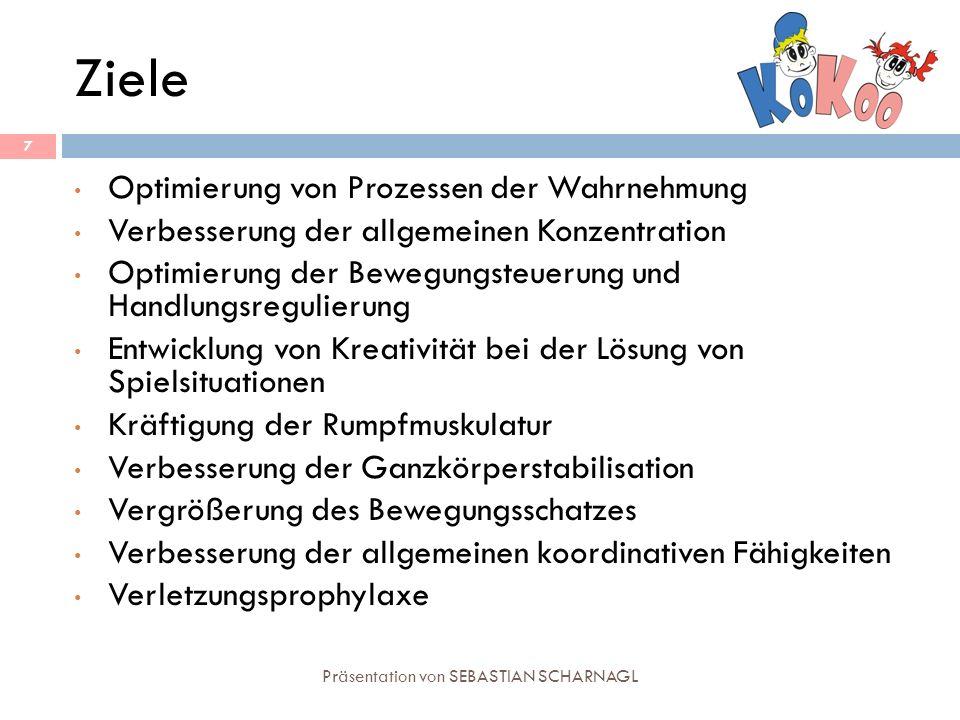 Präsentation von SEBASTIAN SCHARNAGL