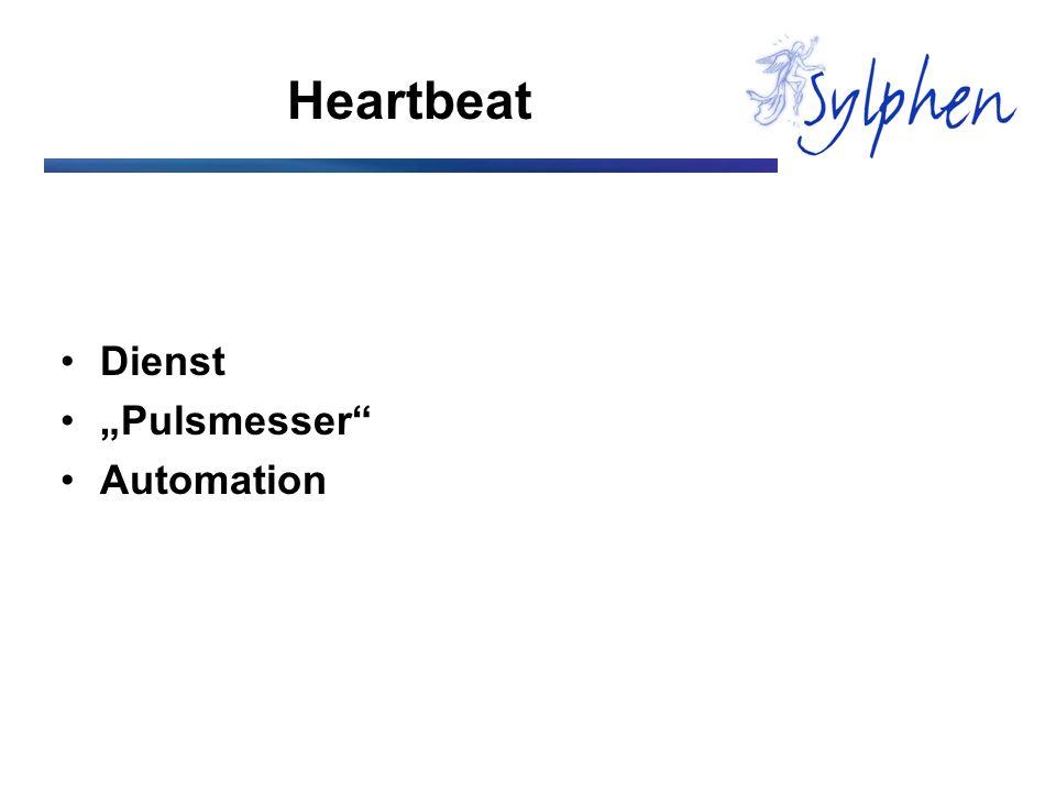 "Heartbeat Dienst ""Pulsmesser Automation"