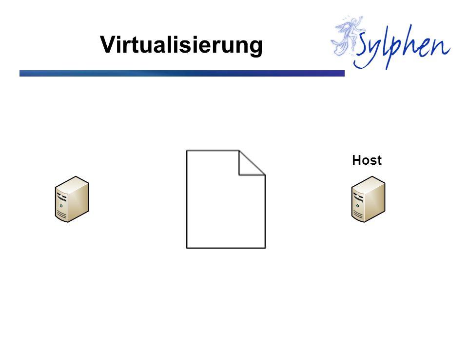 Virtualisierung Host