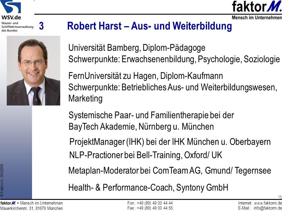 3 Robert Harst – Aus- und Weiterbildung