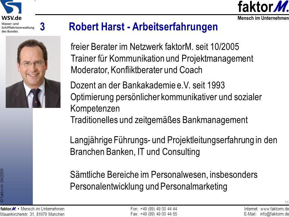3 Robert Harst - Arbeitserfahrungen