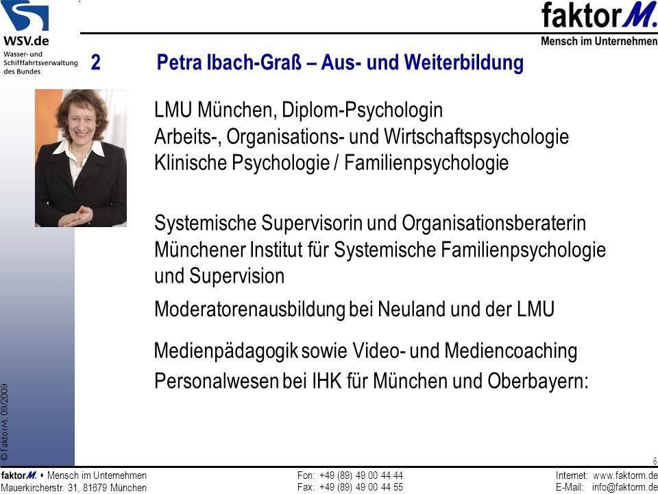 2 Petra Ibach-Graß – Aus- und Weiterbildung