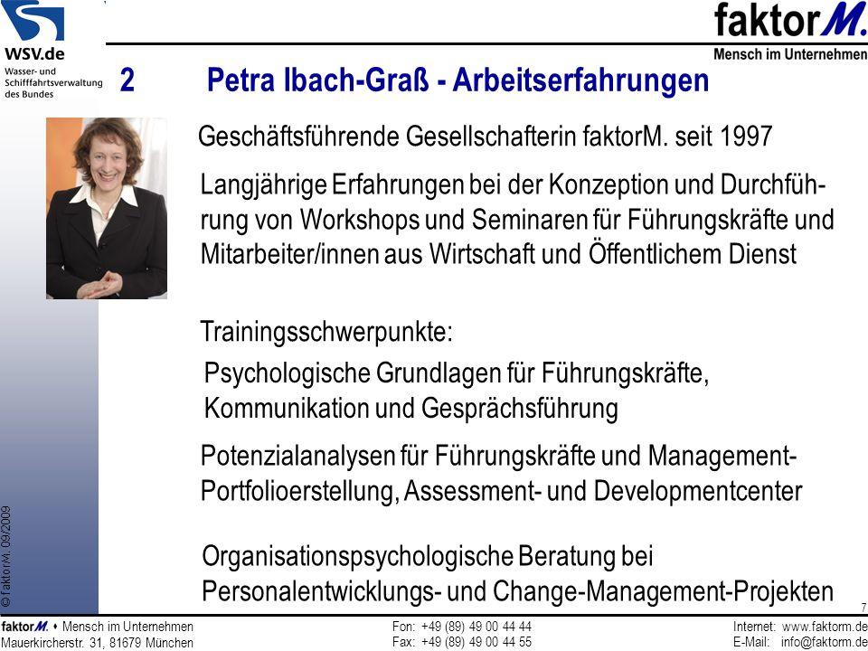 2 Petra Ibach-Graß - Arbeitserfahrungen