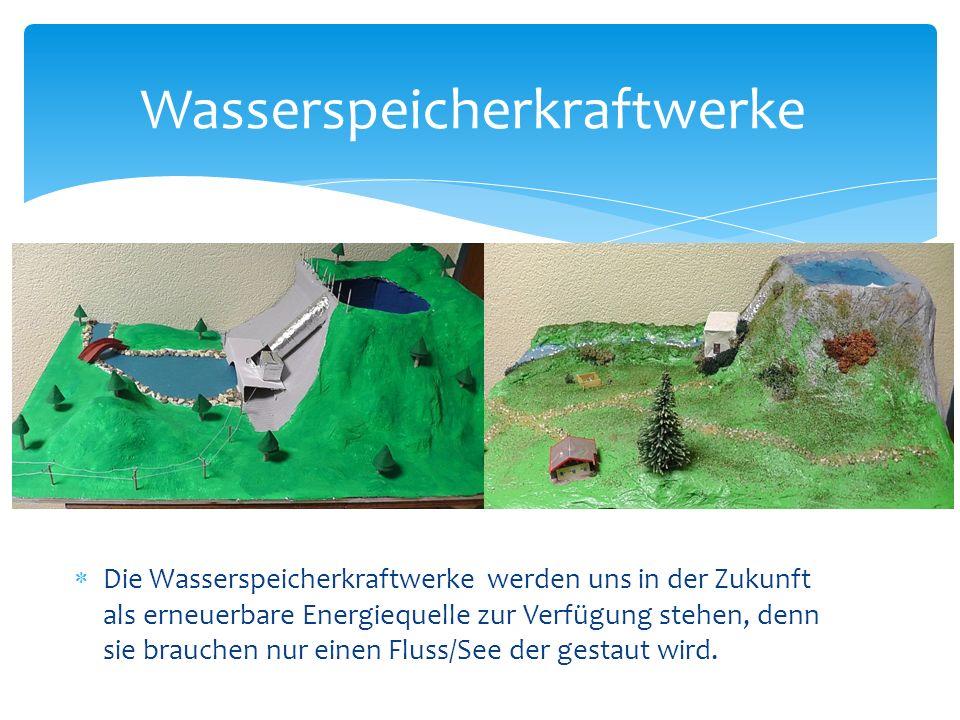 Wasserspeicherkraftwerke