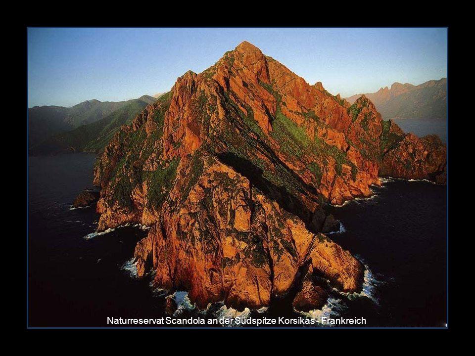 Naturreservat Scandola an der Südspitze Korsikas - Frankreich