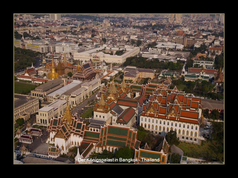 Der Königspalast in Bangkok - Thailand