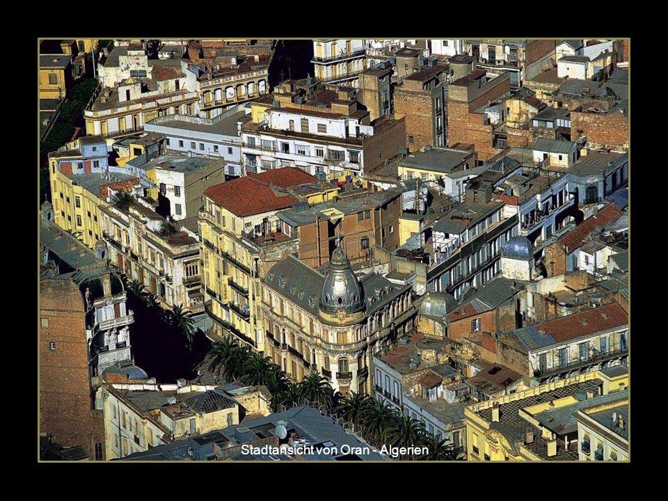 Stadtansicht von Oran - Algerien