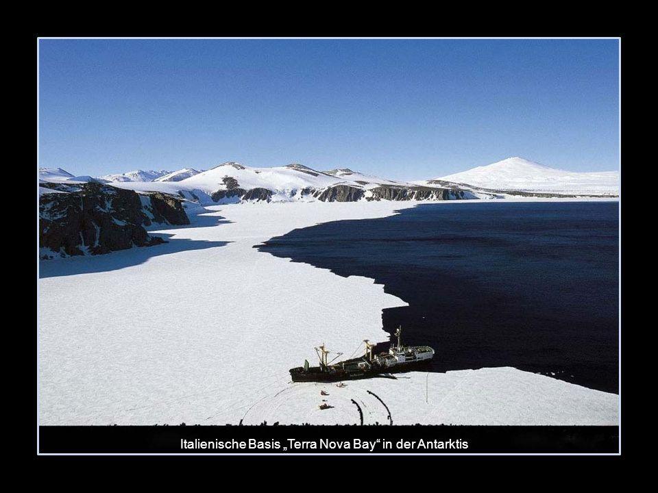 "Italienische Basis ""Terra Nova Bay in der Antarktis"