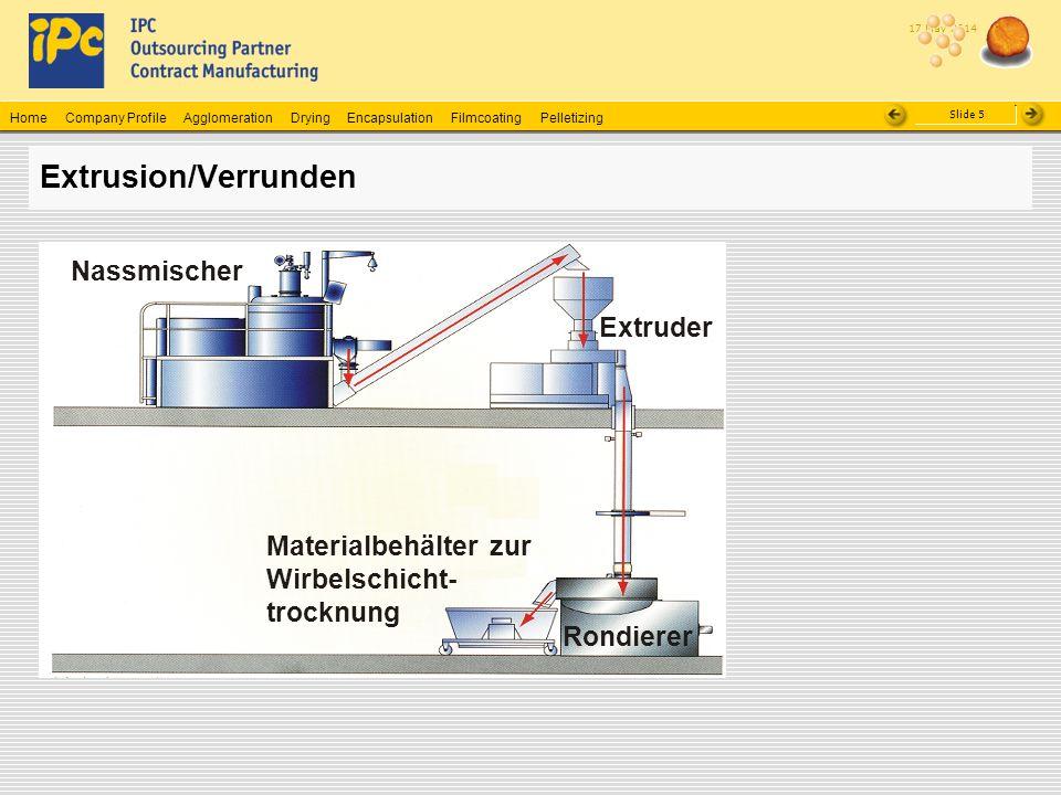 Extrusion/Verrunden Nassmischer Extruder Materialbehälter zur
