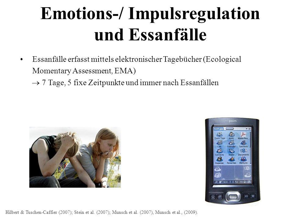 Emotions-/ Impulsregulation und Essanfälle