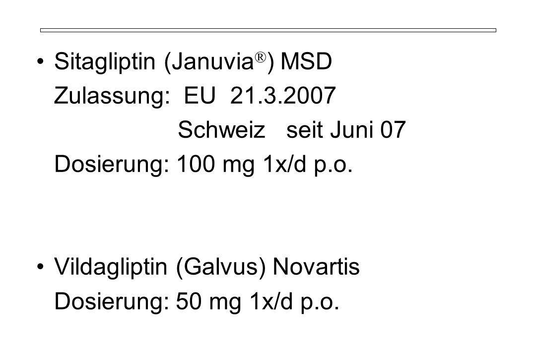 Sitagliptin (Januvia®) MSD