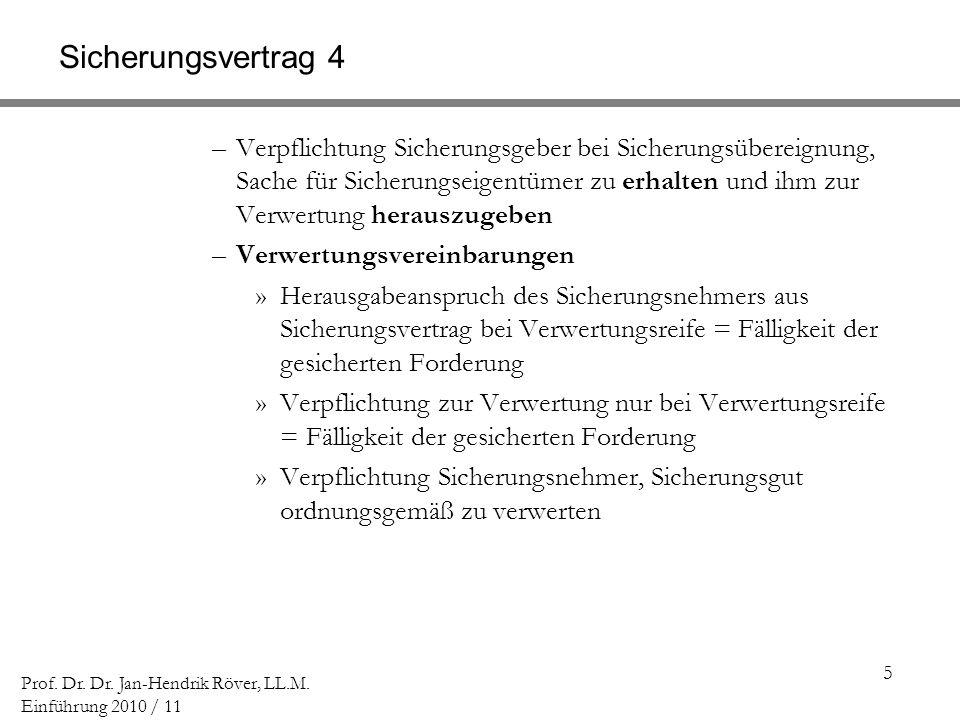 Sicherungsvertrag 4