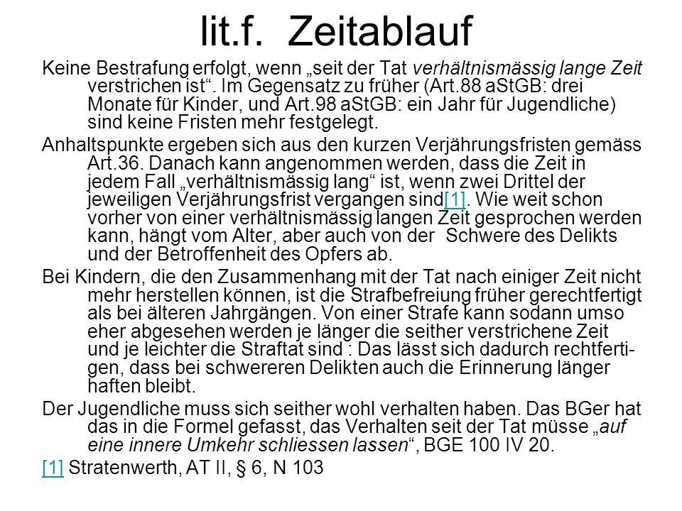lit.f. Zeitablauf