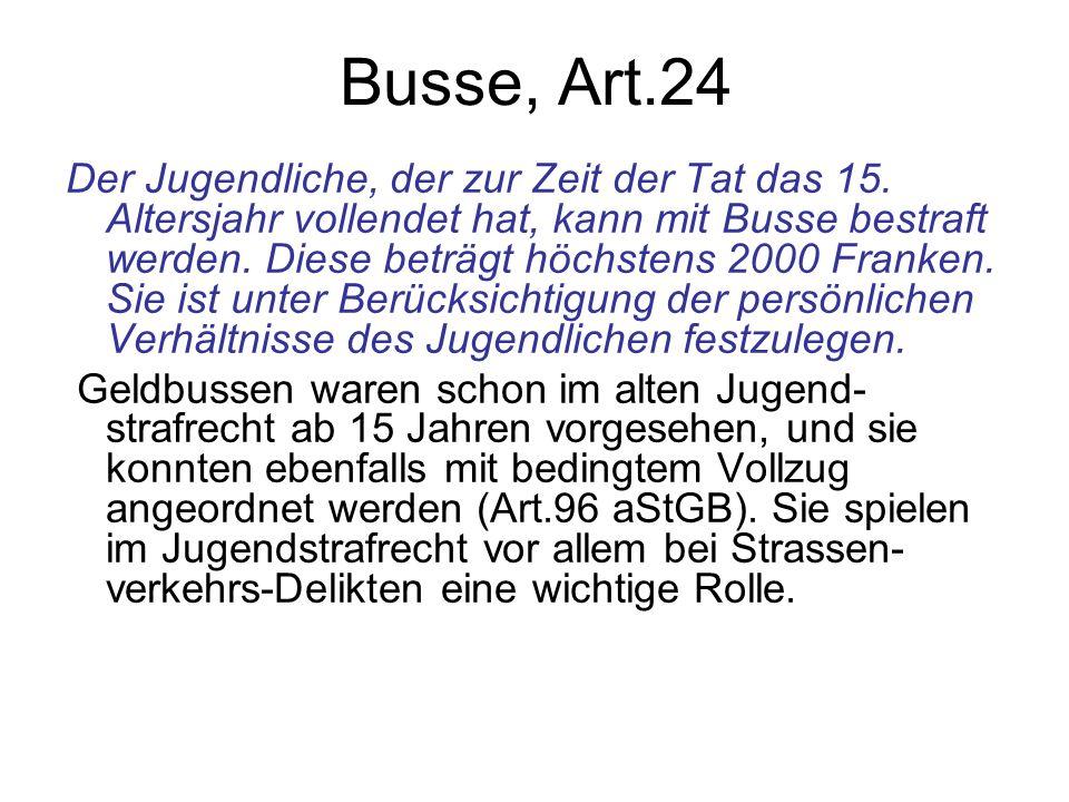 Busse, Art.24