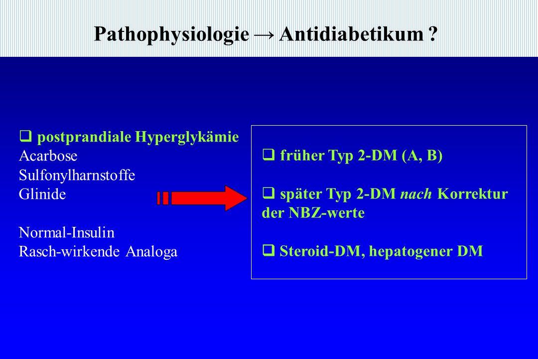 Pathophysiologie → Antidiabetikum