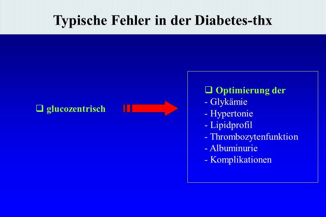 Typische Fehler in der Diabetes-thx
