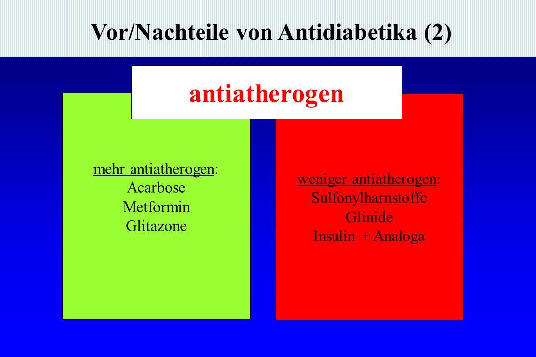 weniger antiatherogen: