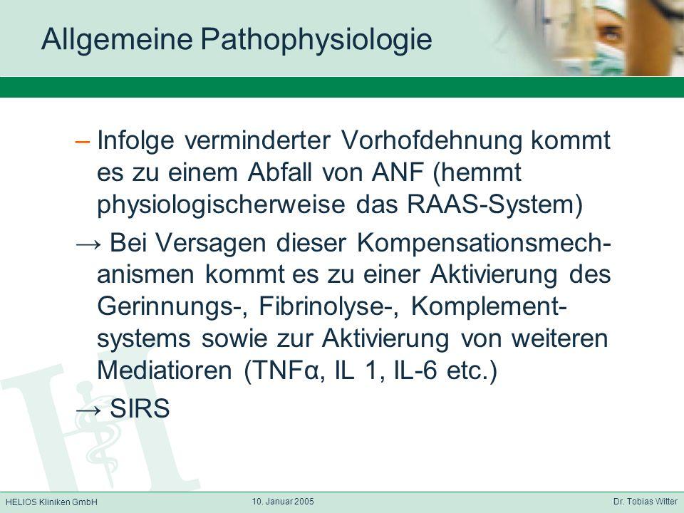 Allgemeine Pathophysiologie