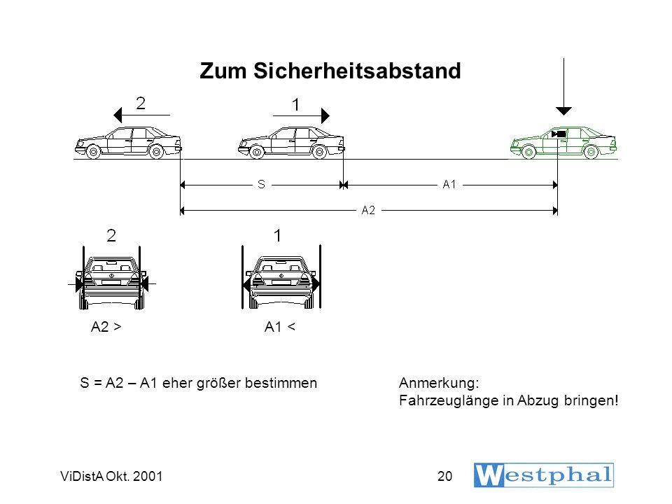 Geschwindigkeitsbestimmung