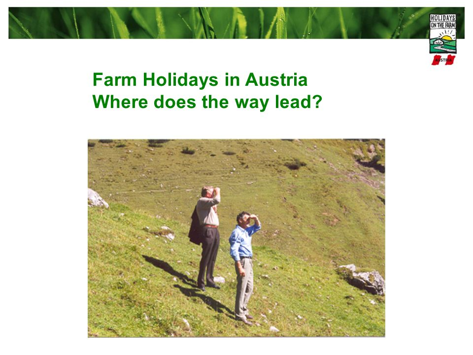 Farm Holidays in Austria
