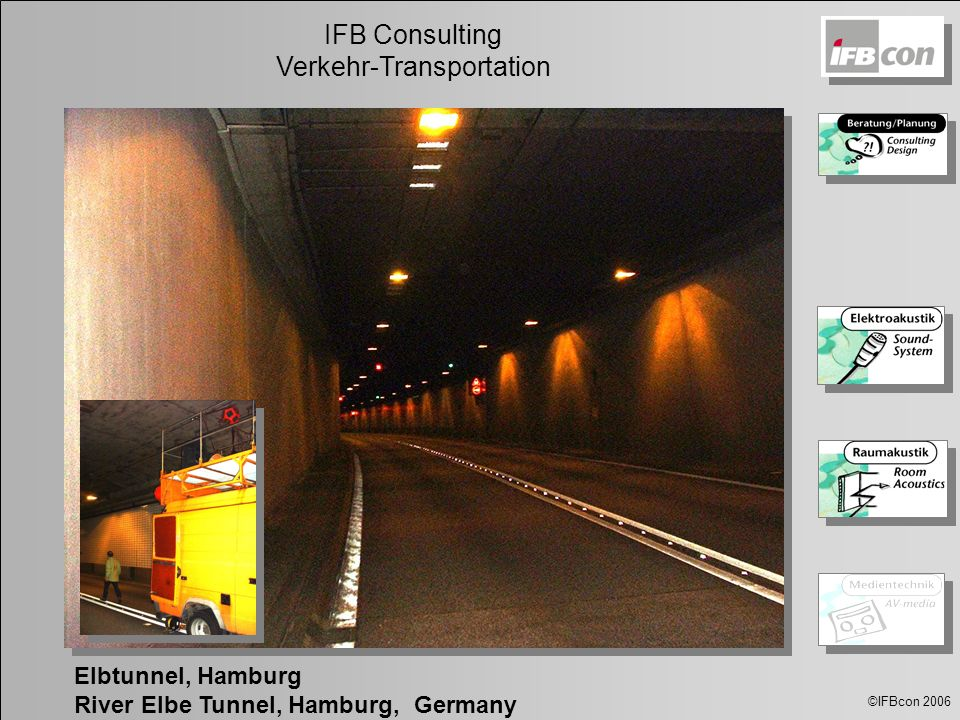 Elbtunnel, Hamburg River Elbe Tunnel, Hamburg, Germany