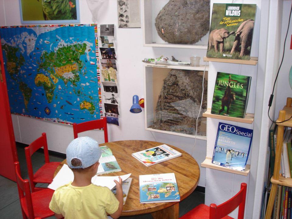 Auch Dreijährige profitieren von dieser Bildungsinsel.