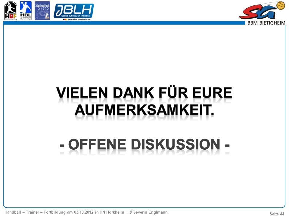 Agenda Baustein 1 (09.00 – 12.00 Uhr) - Modernes Angriffsspiel im Jugendbereich - Phasen des Angriffs - Trainings-und Korrektur- Schwerpunkte.